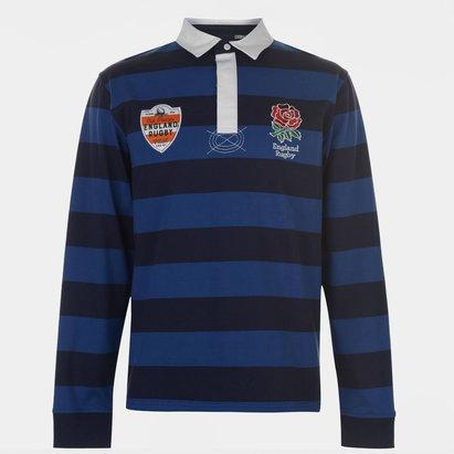 England Bold Stripe L/S Shirt Mens