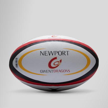 Newport Gwent Dragons - Ballon de Rugby Réplique Officiel