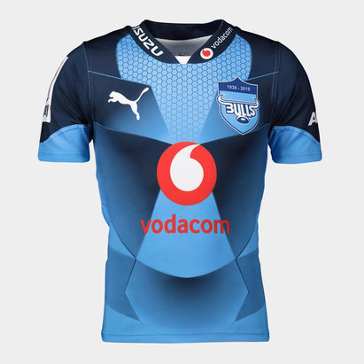 Bulls 2019, Maillot Super Rugby domicile, manches courtes
