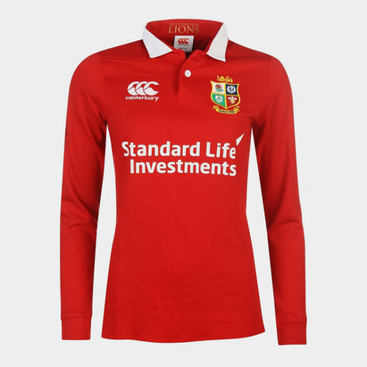 Canterbury British and Irish Lions Classic Jersey 2017 Ladies