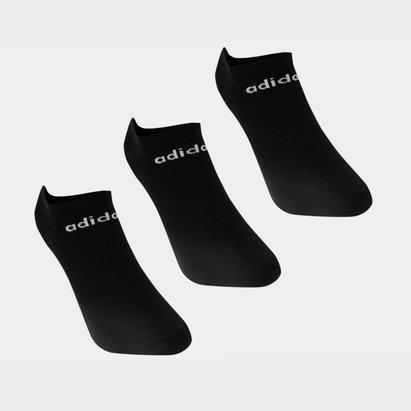 adidas No Show, Lot de 3 paires de socquettes de sport pour homme