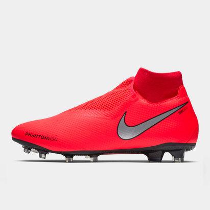 Nike Phantom Vision Pro, Crampons de Football pour hommes défenseurs, Terrain sec