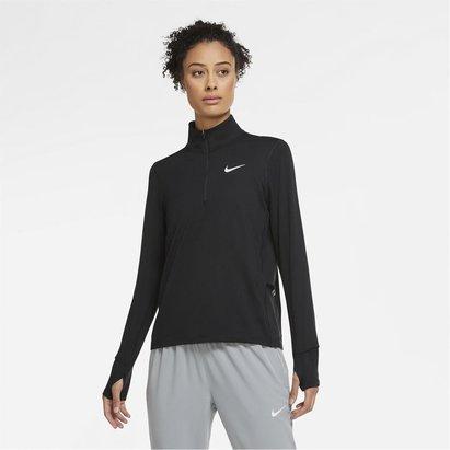 Nike Dri Fit Element Half Zip Top Ladies