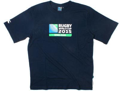 Coupe du Monde RWC 2015 - T-Shirt de Rugby à Logo