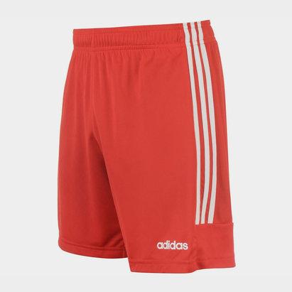 adidas Sereno 14, Short Rouge/Blanc pour homme