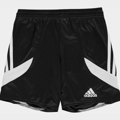 adidas 3 Bandes, Short noir et blanc pour enfants