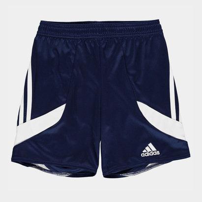 adidas 3 Bandes, Short bleu et blanc pour enfants