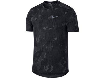 Nike Tailwind, T-shirt de course pour homme