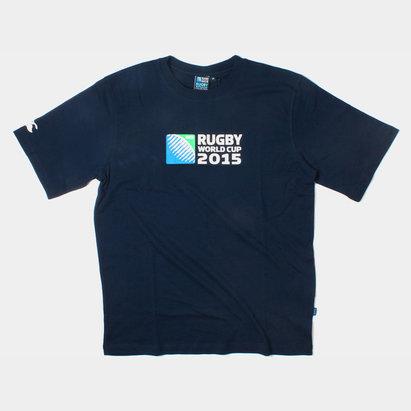 Canterbury Coupe du Monde RWC 2015 Enfant - Tshirt de Rugby à Logo