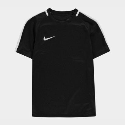 Maillot noir et blanc pour enfants, Nike Academy Football