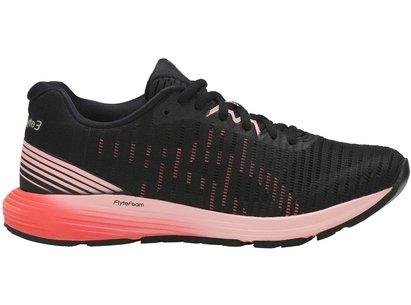 Asics Dynaflyte 3, Chaussures de course noires pour femmes