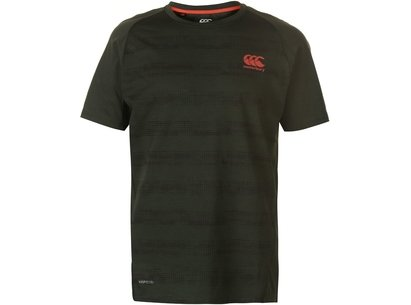 Canterbury Vapodri Performance Cotton T Shirt Mens