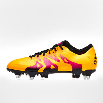 adidas X 15.1, Crampons de football en cuir pour hommes, Terrain mou
