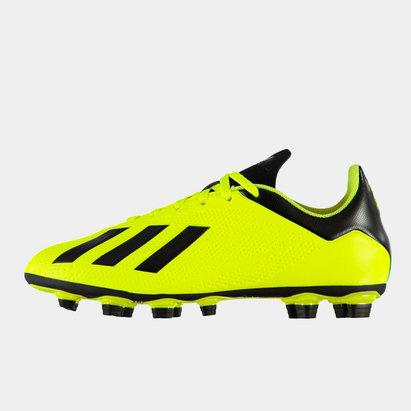 adidas X 18.4 Crampons de football pour hommes, terrain sec