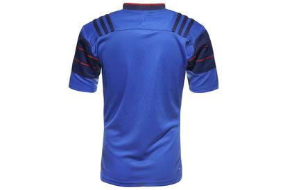 adidas France 2015/16 - Maillot de Rugby Réplique à Domicile MC