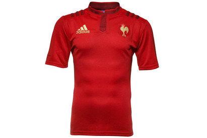 adidas France 2015/16 - Maillot de Rugby Réplique Alterné MC
