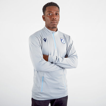 Macron Cardiff Blues 2019/20 Players Softshell Rugby Jacket