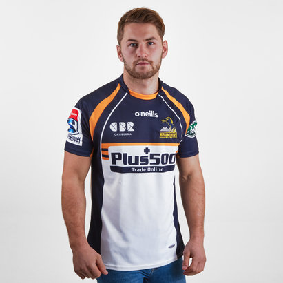 O'Neills Maillot de rugby Brumbies 2019 domicile, manches courtes
