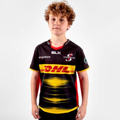 BLK Maillot de Rugby réplique pour enfants, Stormers 2019 extérieur
