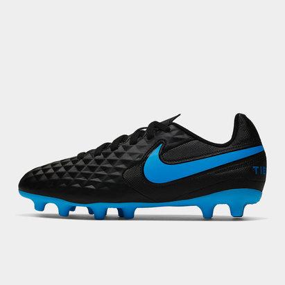 Nike Crampons de football pour terrain dur/sec, Tiempo Legend Club pour hommes