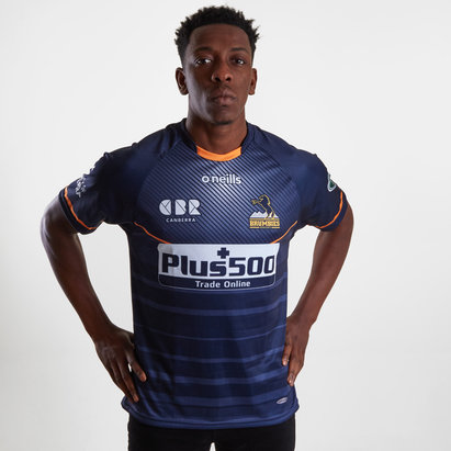 ONeills T-shirt de rugby d'entrainement manches courtes Brumbies 2019