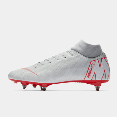 Nike Mercurial Superfly Academy, Crampons de Football pour défenseur, terrain mou