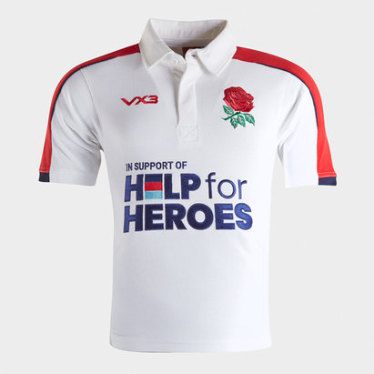 VX3 Help for Heroes England 2019/20 Kids Rugby Shirt