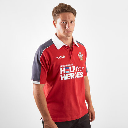 VX3 Maillot de Rugby Pays de Galles 2019/2020, Help For Heroes