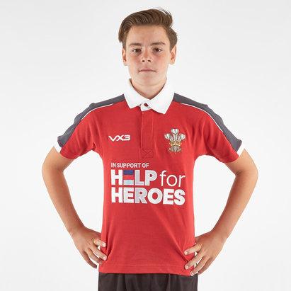 VX3 Polo de Rugby pour enfants, Help For Heroes, Pays de Galles 2019/2020