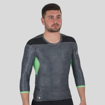 adidas Techfit Climachill - Tshirt Manches 3/4
