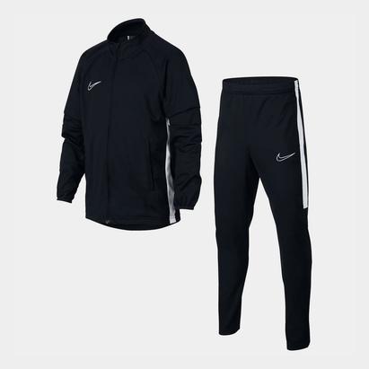 Nike Academy noir/blanc, Survêtement chauffant pour enfants