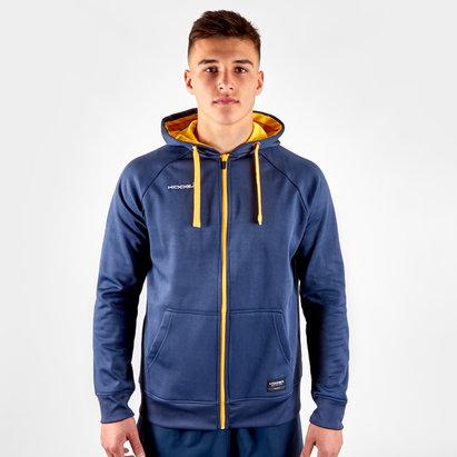 KooGa Contrast, Sweatshirt de Rugby avec capuche et zip intégral