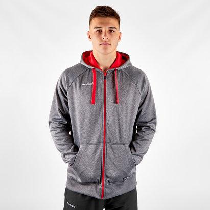 KooGa Sweatshirt avec capuche et zip intégral Contrast
