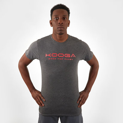 Kooga T-shirt en cotton avec logo