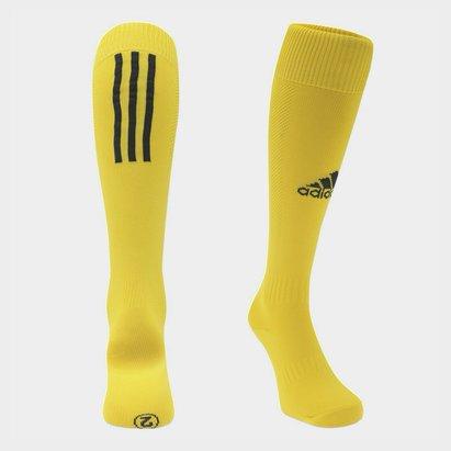adidas Chaussettes de football pour hommes adidas Santos en jaune
