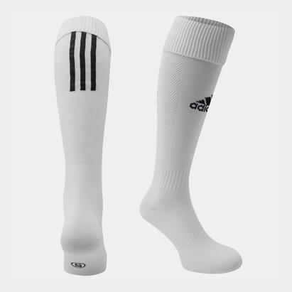 adidas Chaussettes de football pour hommes, adidas Santos en blanc
