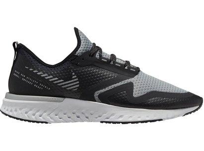 Nike Odyssey React 2 Shield, Chaussures de course grises pour hommes
