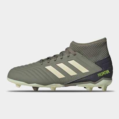 adidas Predator 19.3 FG, Crampons de football pour enfant