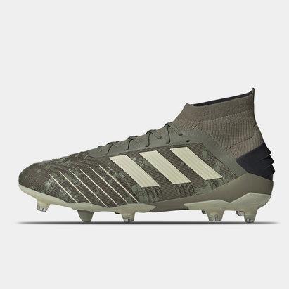 adidas Predator 19.1 FG, Crampons de Football pour hommes