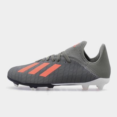 adidas X 19.3 FG, Crampons de Football pour enfant