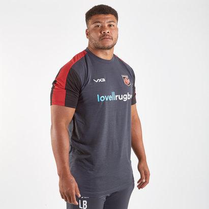 VX3 T-shirt d'entraînement de Rugby Joueurs, Dragons 2019/2020