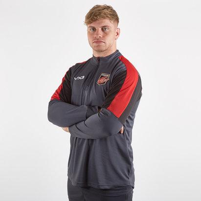 VX3 Dragons 2019/20 Players Half Zip Rugby Sweatshirt