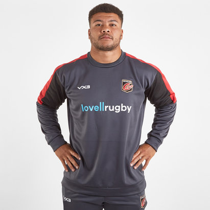 VX3 Sweatshirt de Rugby Joueurs, Dragons 2019/2020