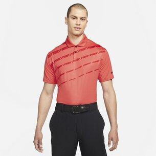 adidas Dri FIT Vapor Mens Graphic Golf Polo Shirt