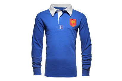 World Beach Rugby France Enfants - Maillot de Rugby Vintage