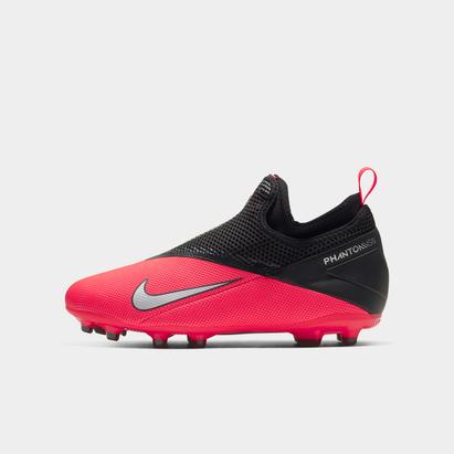 Nike Phantom Vision Academy DF FG, Crampons de Football pour enfant