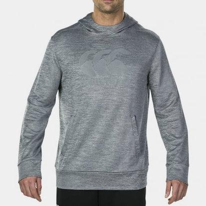 Canterbury Sweat d'entraînement gris avec capuche