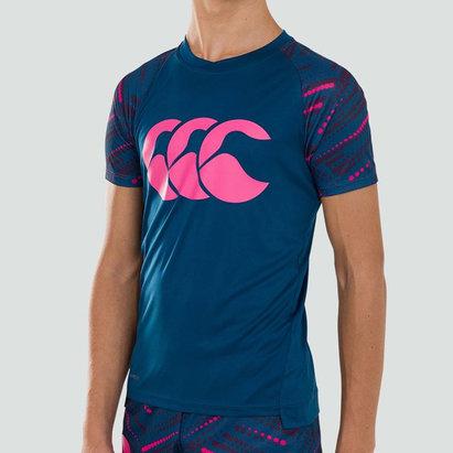 Canterbury T-shirt pour enfants Vapodri