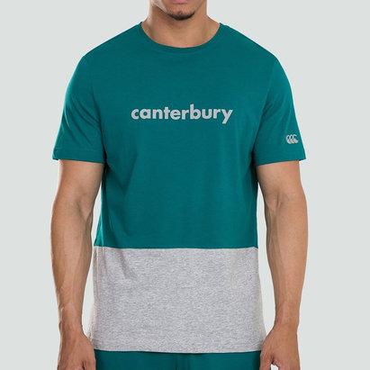 Canterbury Block Logo, T-shirt pour Homme