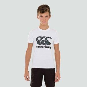 Canterbury T-shirt avec logo pour enfants